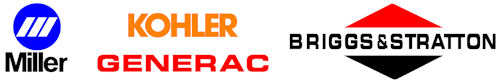 Miller, Kohler, Generac, Briggs & Stratton and more